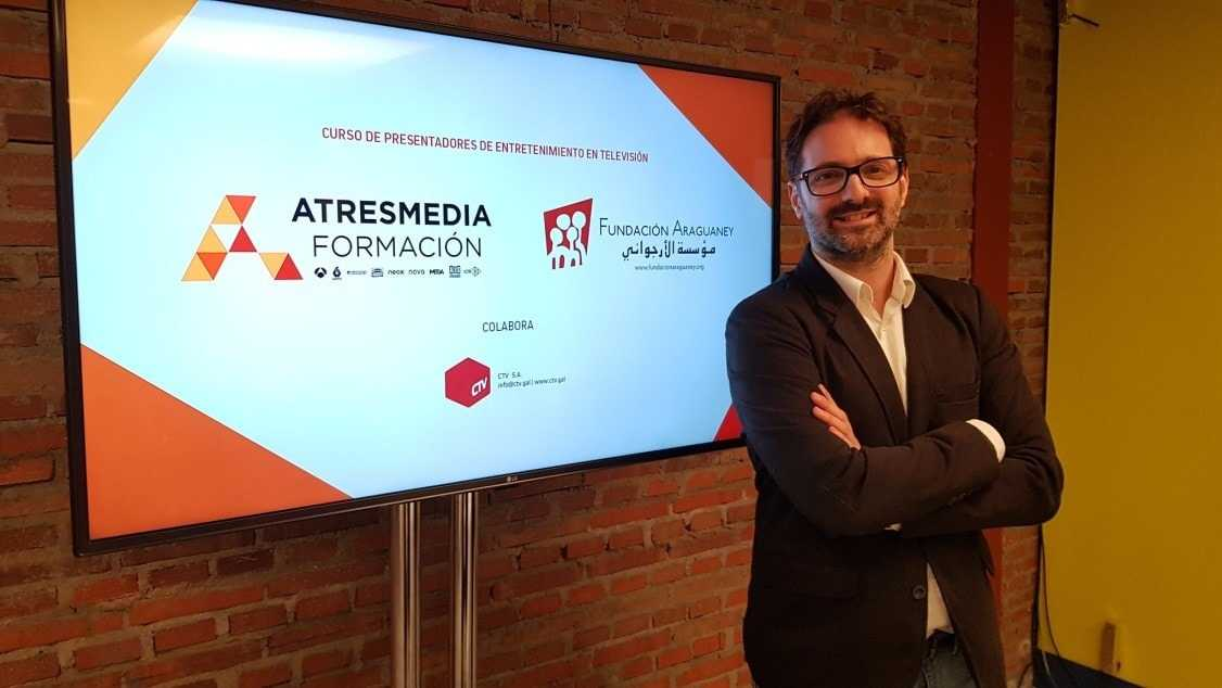 """Atresmedia Formación y la Fundación Araguaney finalizan con éxito el curso """"Presentadores de Entretenimiento en TV"""""""